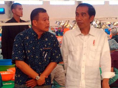 President Jokowi's visit to PT Comextra Majora