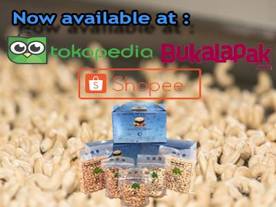 Now  available at Tokopedia, Shopee & Bukalapak