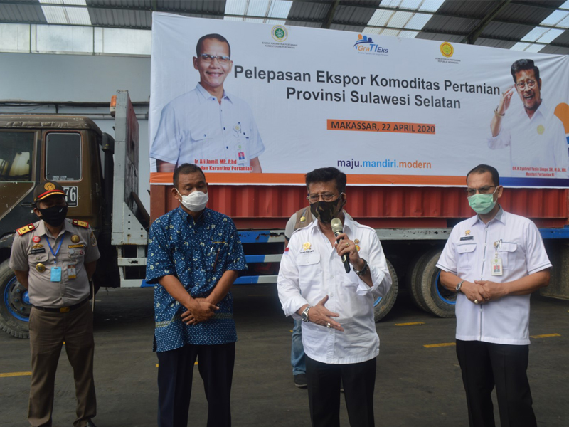 Minister of Agricultural's Visit to PT Comextra Majora