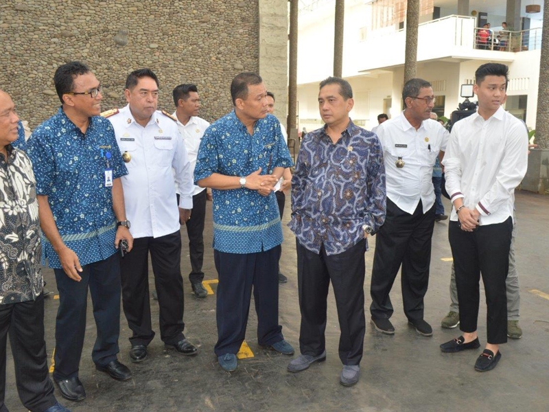 Minister of Trade's Visit to PT Comextra Majora