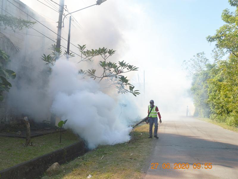 Fogging di Tengah Pandemi Covid-19
